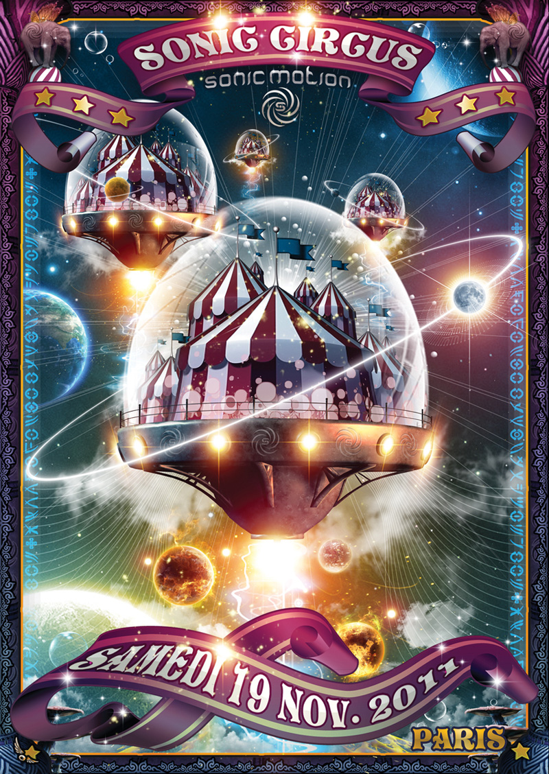 19/11/2011 - SONIC CIRCUS - Sonic Motion Records - Paris Int SONIC-CIRCUS-Front-800