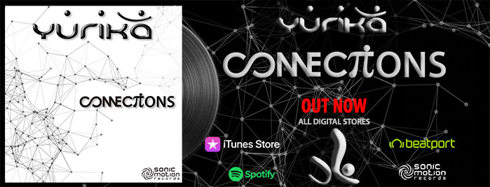Yurika - Connections - OUT NOW !! Yurika_Connections_OUT-NOW_BANNER_WEBSITE