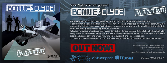 Bonnie and Clyde (Atyss vs Yurika) - Wanted- EP - OUT NOW!! Bonnie_and_clyde_bannerOUTNOW699