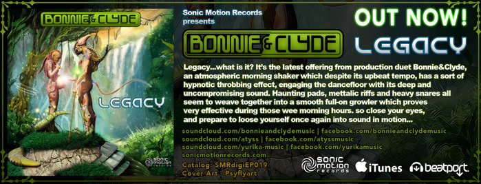 Bonnie and Clyde (Atyss vs Yurika) - Legacy EP - OUT NOW !!! Bonnieandclyde_legacy_banner_outnow_699
