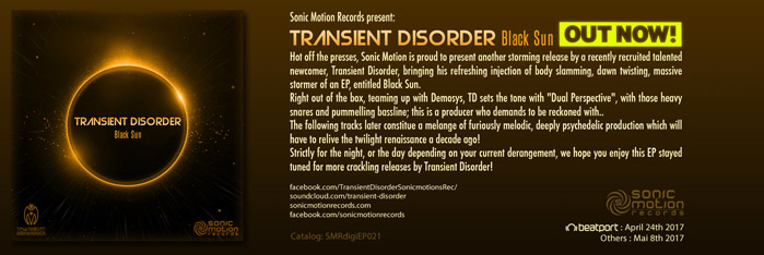 TRANSIENT DISORDER - BLACK SUN - Out now !! Transient_disorder_blacksun_outnow
