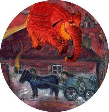 Un retournement Chagall