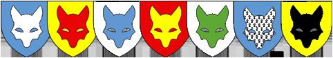 Les sept renards Goupils