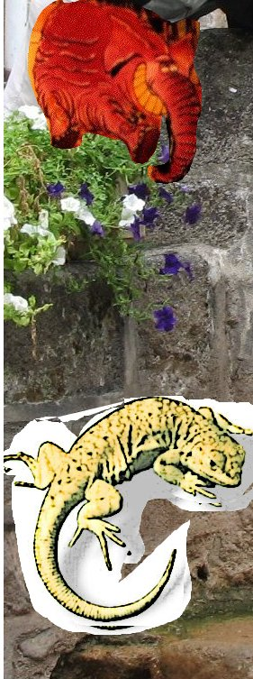 La Fontaine voit des raisins Lagarfanto