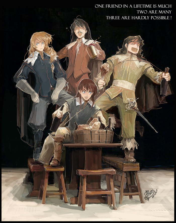 The Three Musketeers (Anime Sanjushi) Pisces1