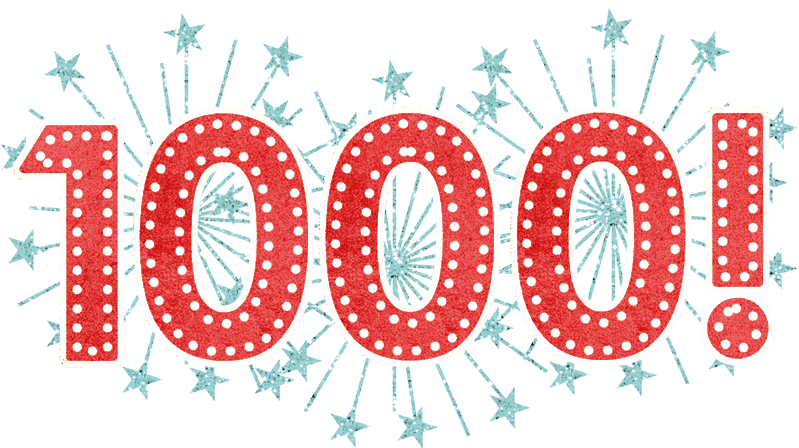I primi 1000 per Lucegrafia 1000