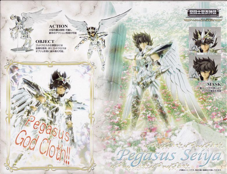 01 - Seiya de Pégase God Cloth Verso