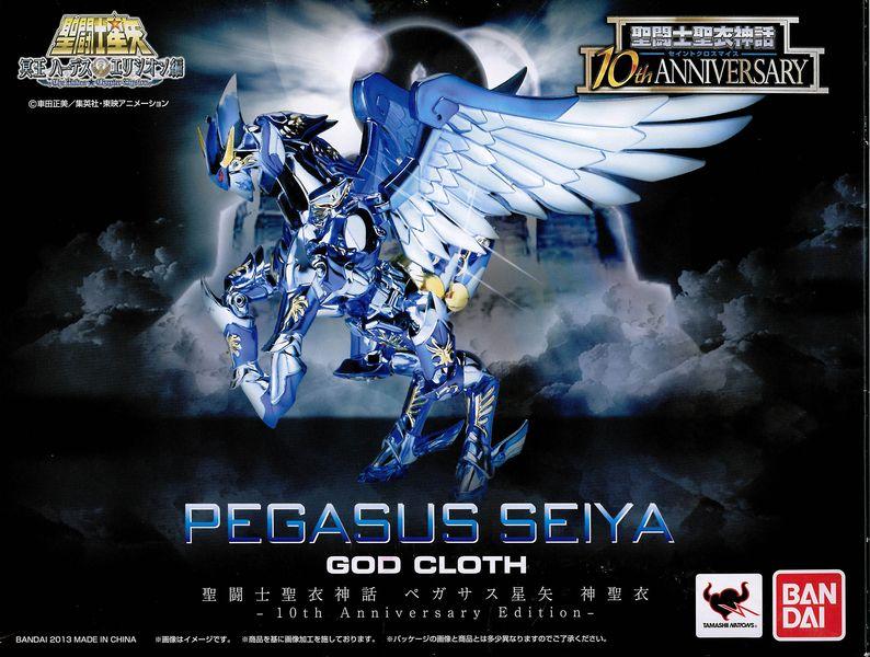 07 - Seiya de Pégase God Cloth - 10th Anniversary Recto