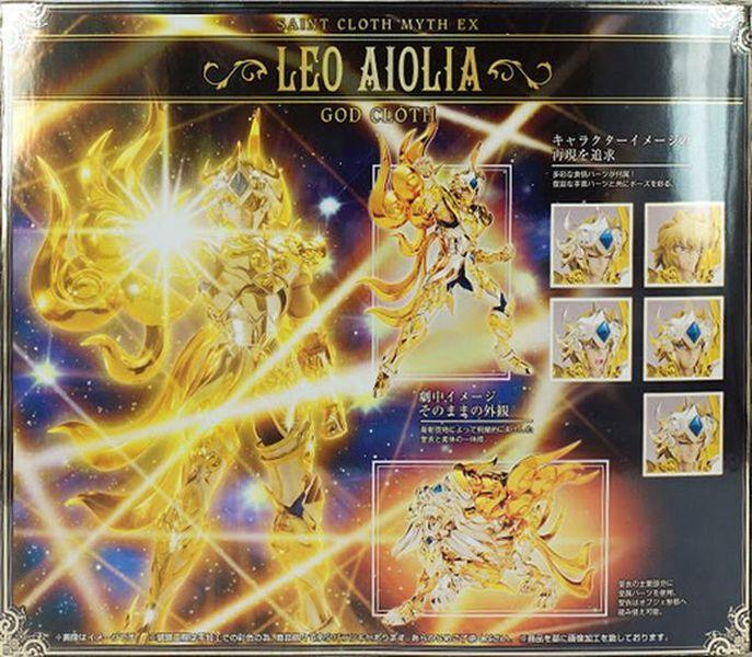 05 - Aiolia du Lion God Cloth Verso