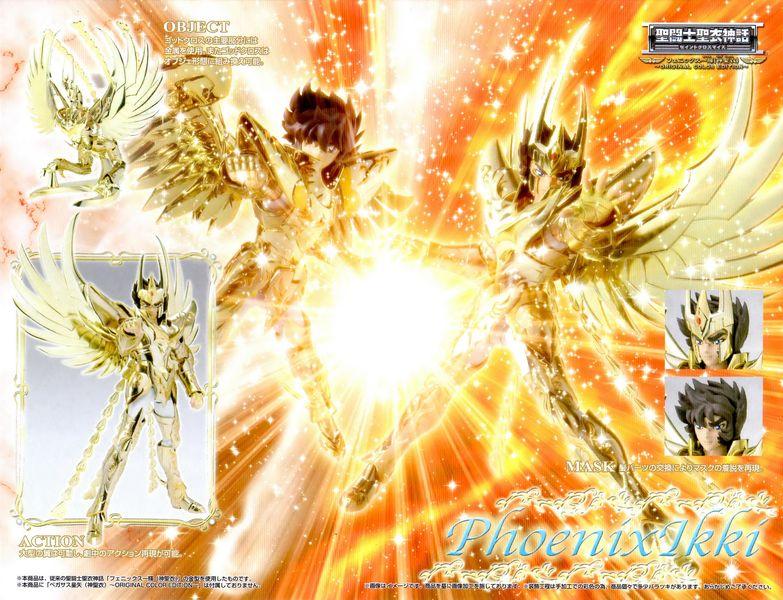 11 - Ikki du Phoenix God Cloth, OCE Verso