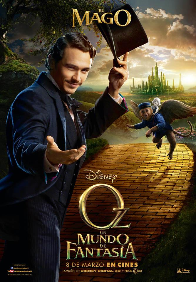 Oz: un mundo de Fantasia/ Oz: The Great and Powerful - Sam Raimi (2013) Cartel-el-mago-en-oz-un-mundo-de-fantasia-593