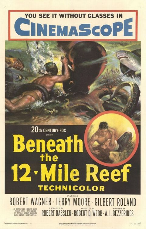 Tempête Sous la Mer - Beneath the 12-Mile Reef - 1953 - Robert D. Webb Beneath_the_twelve_mile_reef