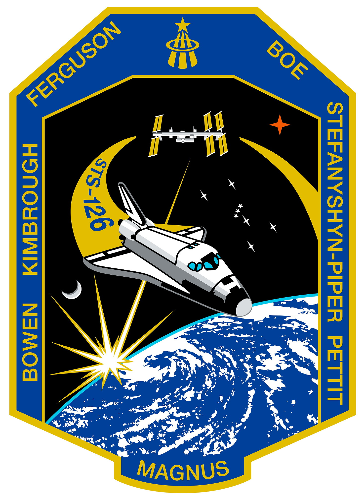 Animation assemblage ISS Sts-126
