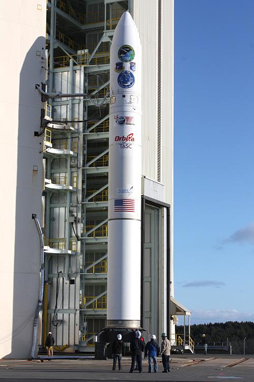 Minotaur 4 (FastSat) - Kodiak - 20.11.2010 07