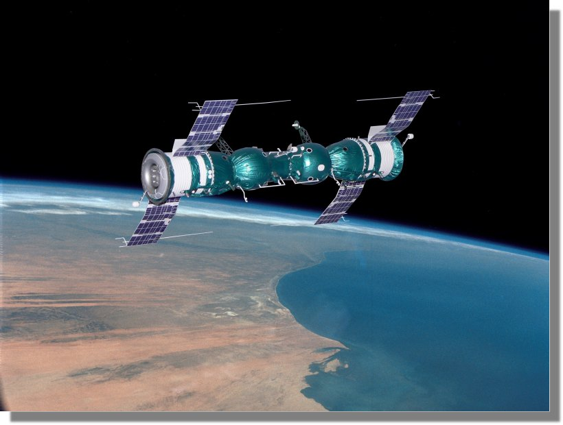 Vos maquettes en situation !!! Soyuz45-1