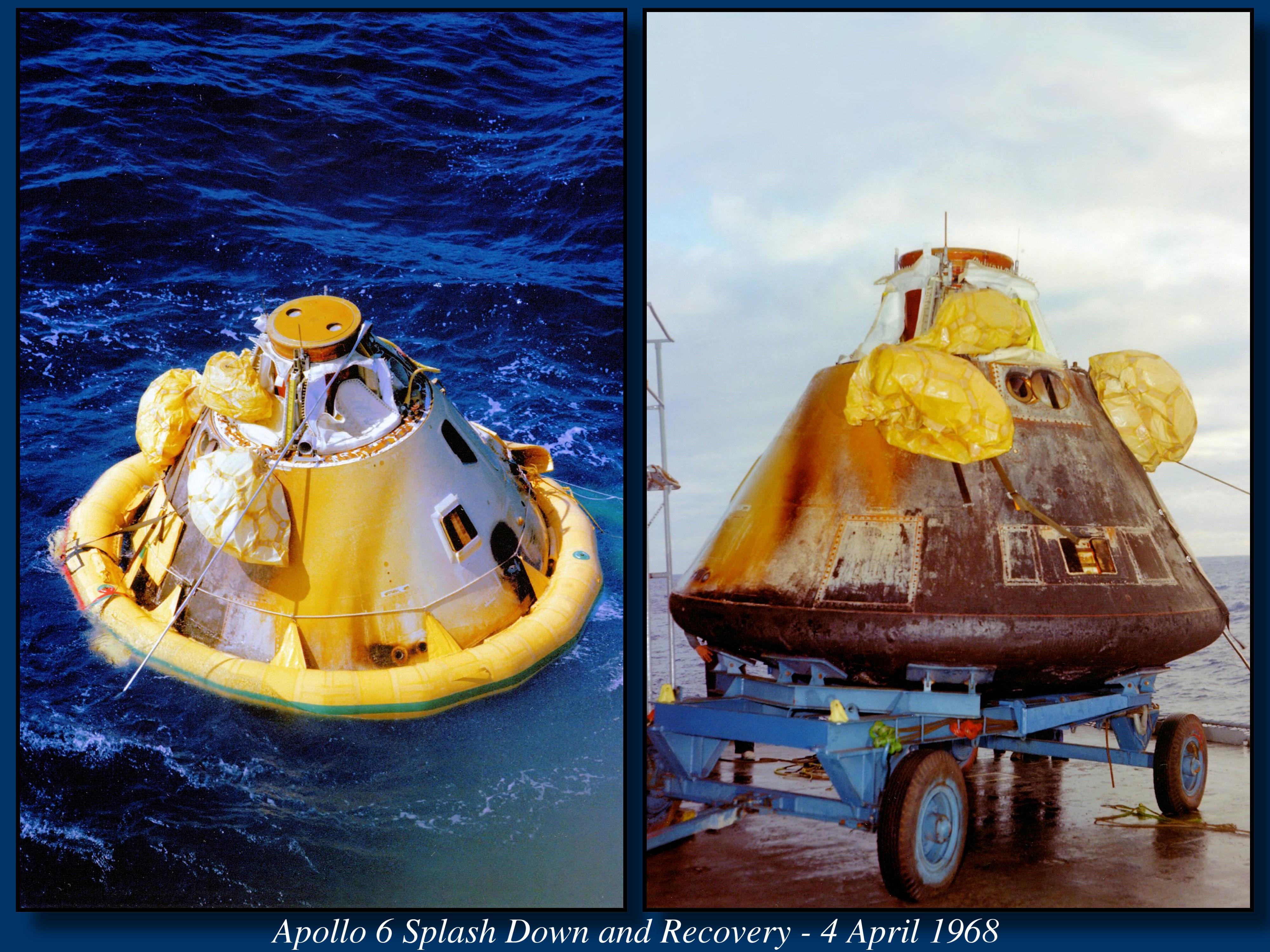 Saturn V AS-502 (Apollo 6) - 4.4.1968 5-Apollo-6-1968-04-04