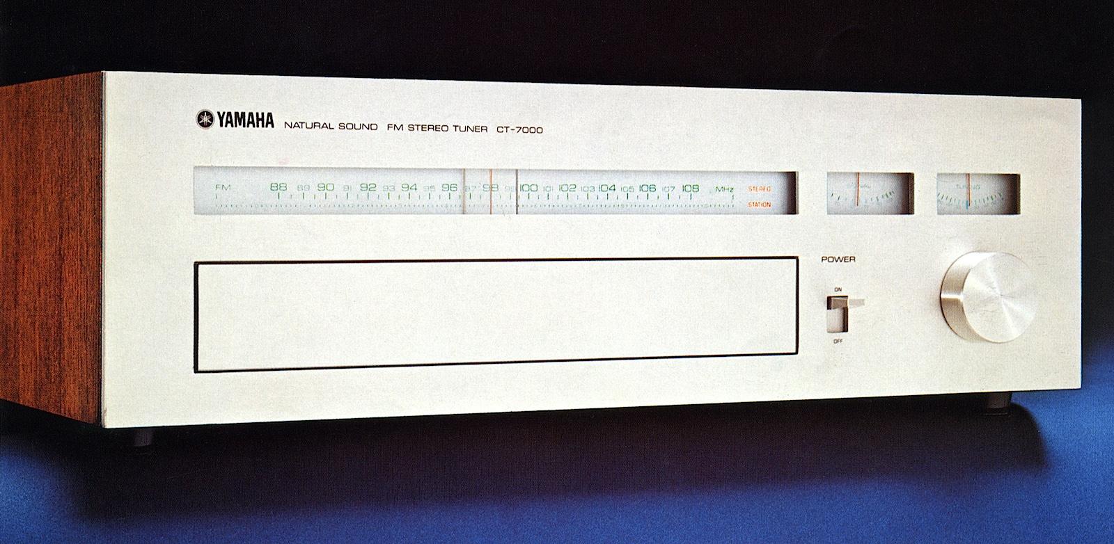 ¿Quizá el mejor tuner vintage? Yamaha-ct7000