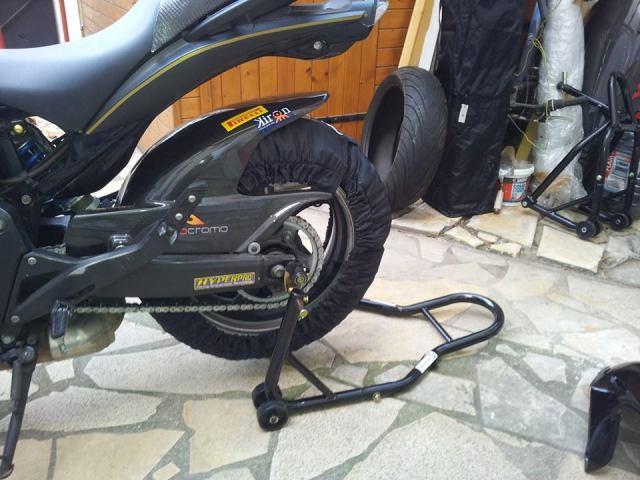[VDS] Lèche roue Rossocromo carbone K7-K10 Testcouvrosso