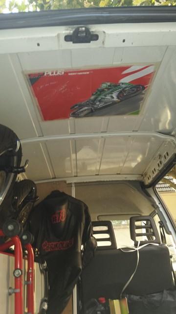 Présentation de la Tondeuse de MrBriko: Hornet 600 2010 20140820_194619