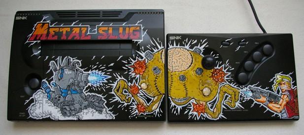 -=   CUSTOM NEO GEO  =- Neo-Geo-Aes-Custom-Metal-Slug