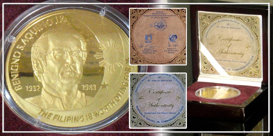 EdSA PNoy Coin Coin