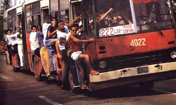Cuba en los '80 Guagua