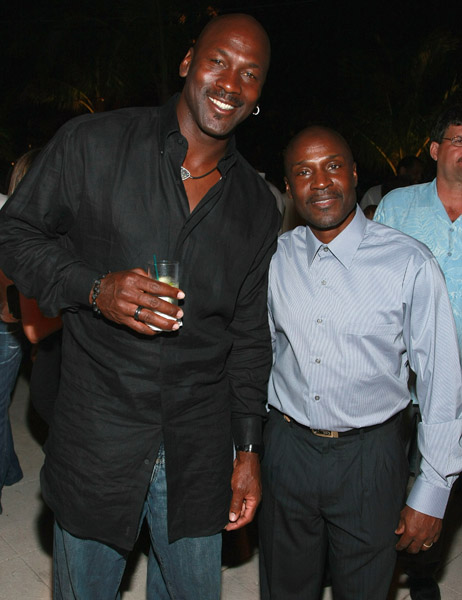¿Cuánto mide Michael Jordan? - Altura - Real height Larry-jordan
