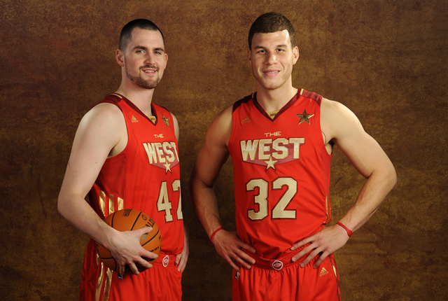 ¿Cuánto mide Kevin Love? - Altura - Real height Kevin-love-blake-griffin