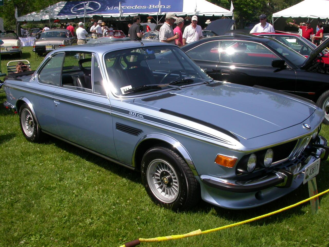 Mercedes Benz x BMW 1973-bmw-30-csl
