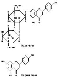 Очищение и лечение грейпфрутом 200px-Naringine