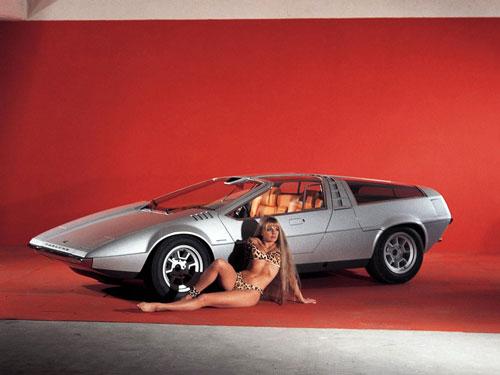 concept car année 70' Tapiro