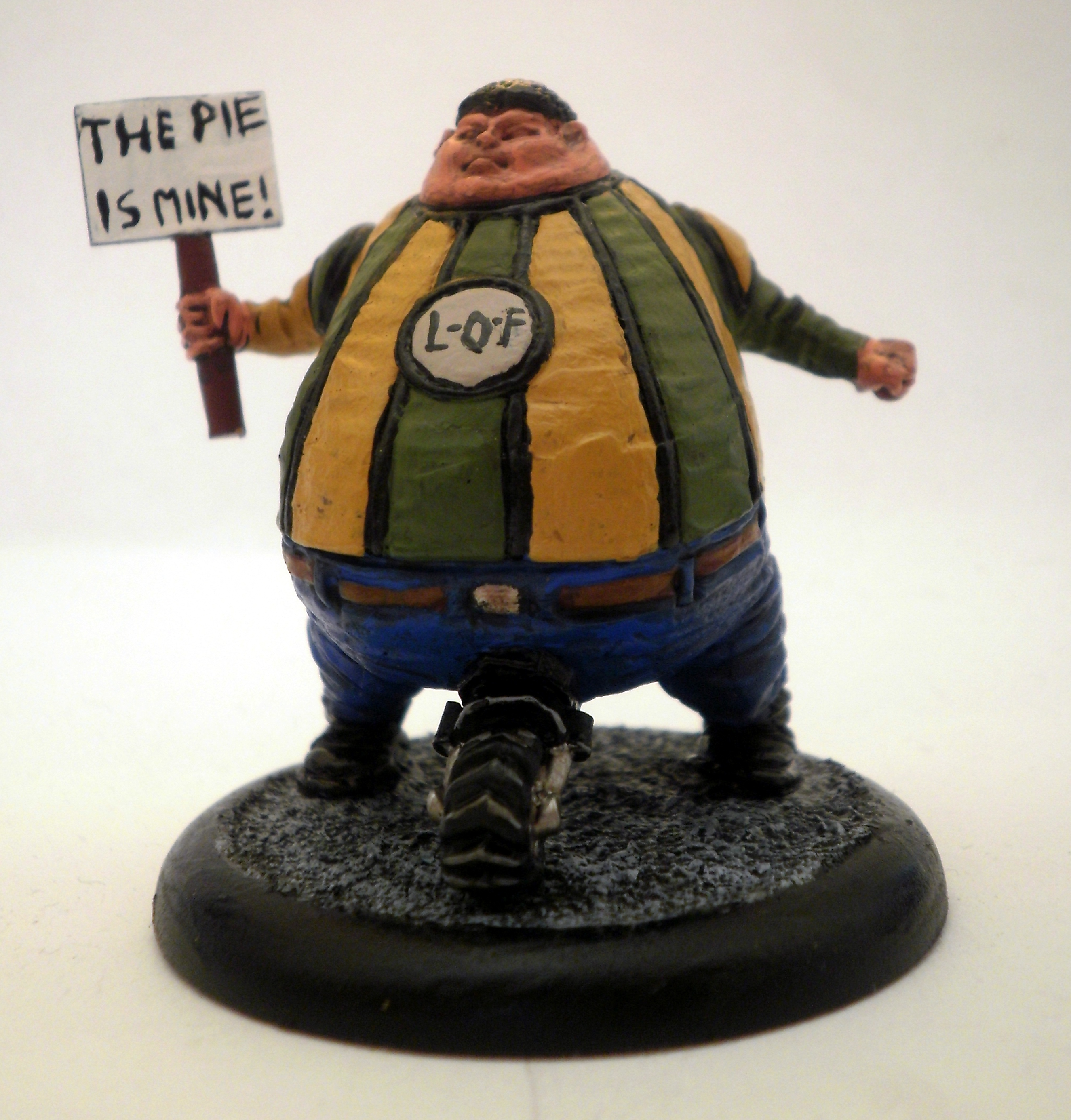 Free skirmish game - Judge Dredd Fattie