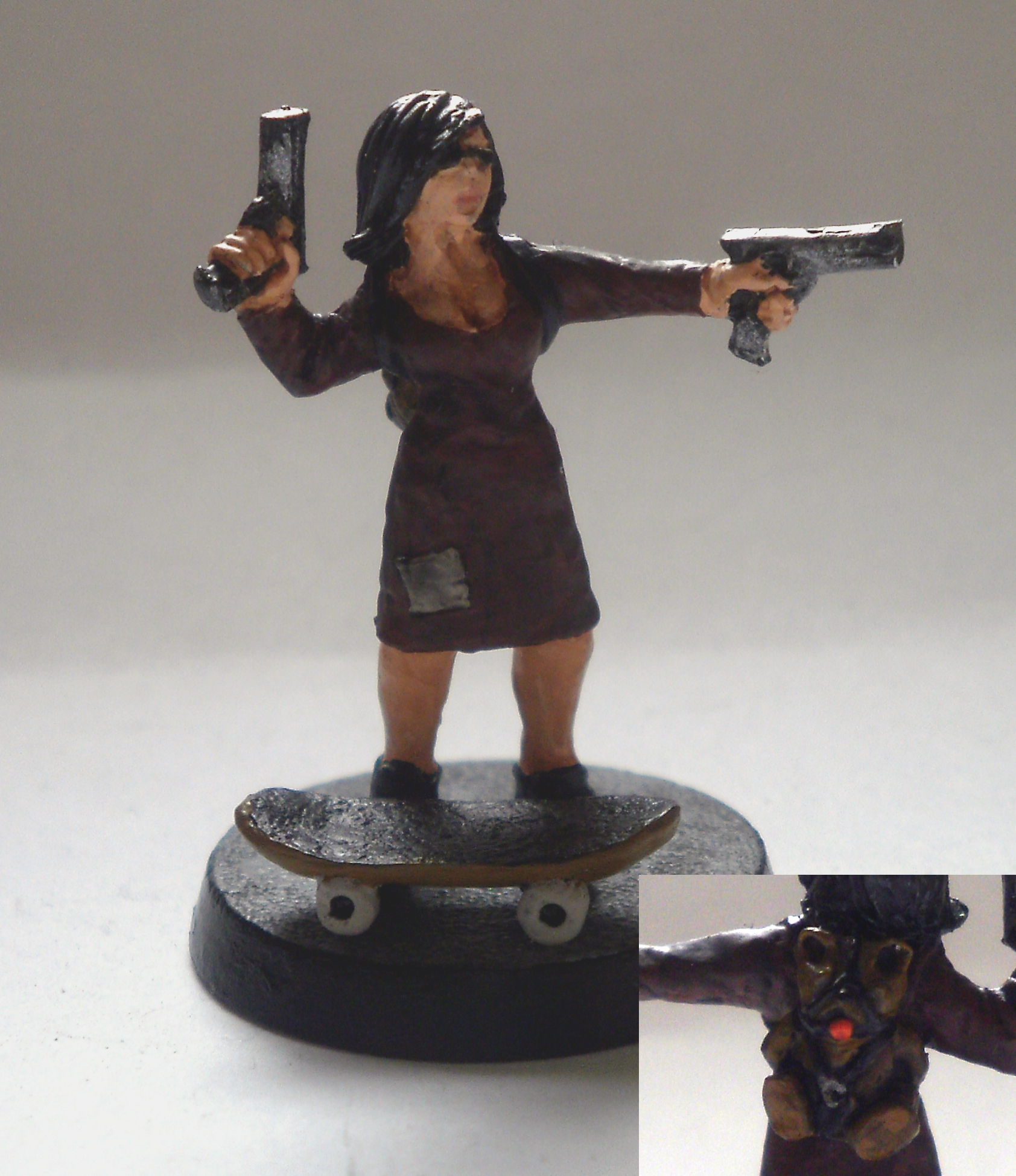 Skater Girl mini for my Judge Dredd Gang Josy