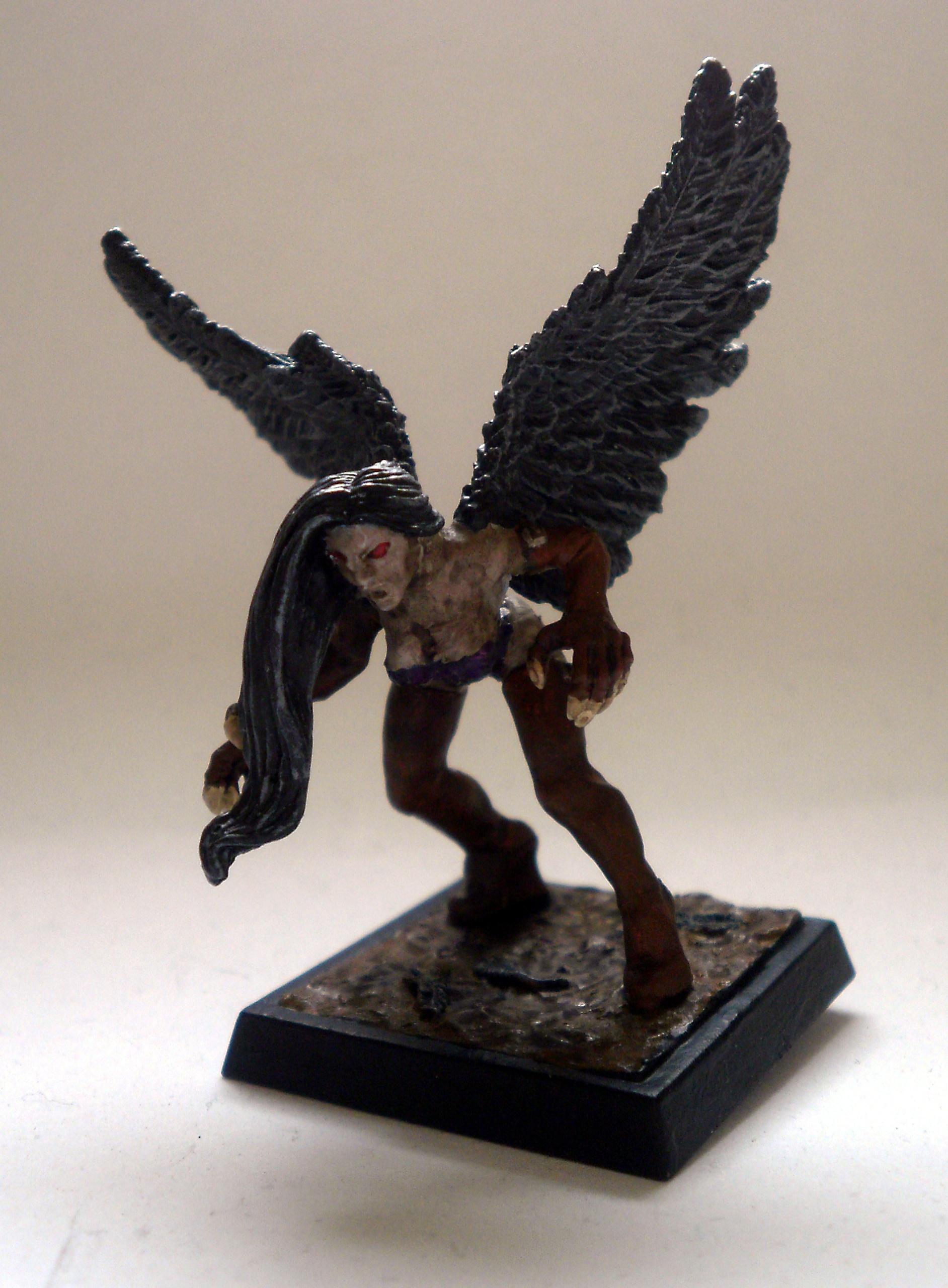 Harpy and a somewhat random model... Ravenorharpy