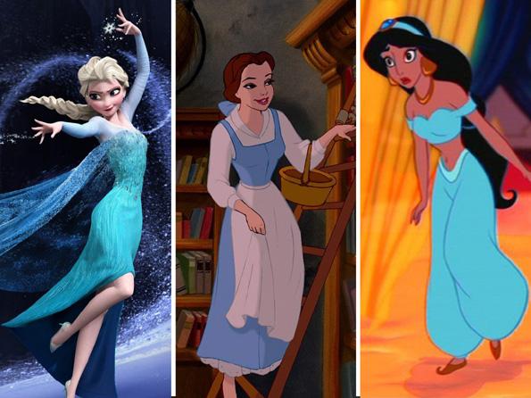 Princezi 3-zoshto-dizni-princezite-sekogash-nosat-fustani-vo-sina-boja-