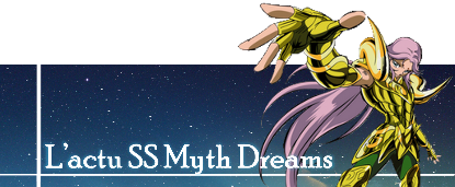 SAINT SEIYA MYTH DREAMS - FORUM MYTH CLOTH 5555