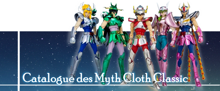 SAINT SEIYA MYTH DREAMS - FORUM MYTH CLOTH Classic