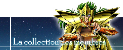 SAINT SEIYA MYTH DREAMS - FORUM MYTH CLOTH Collectiony3