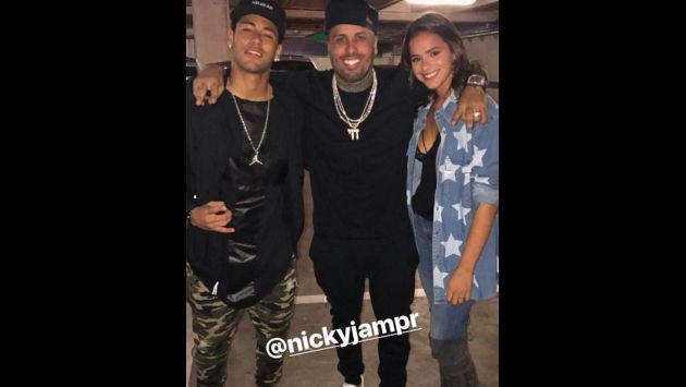 ¿Cuánto mide Nicky Jam? - Altura - Real height Nicky-jam-messi-neymar4-d598a