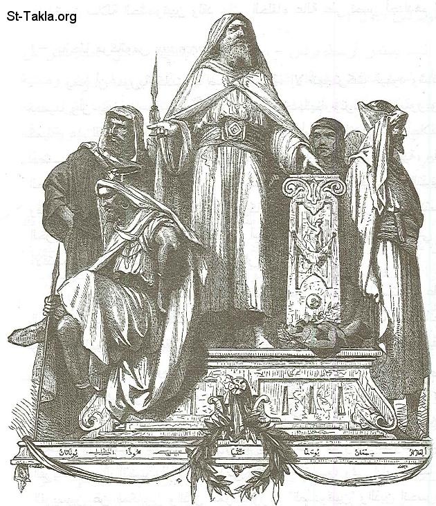 المكابيين ومواجهة الحضارة الهيلينية Www-St-Takla-org--Priest-Mattathia-1