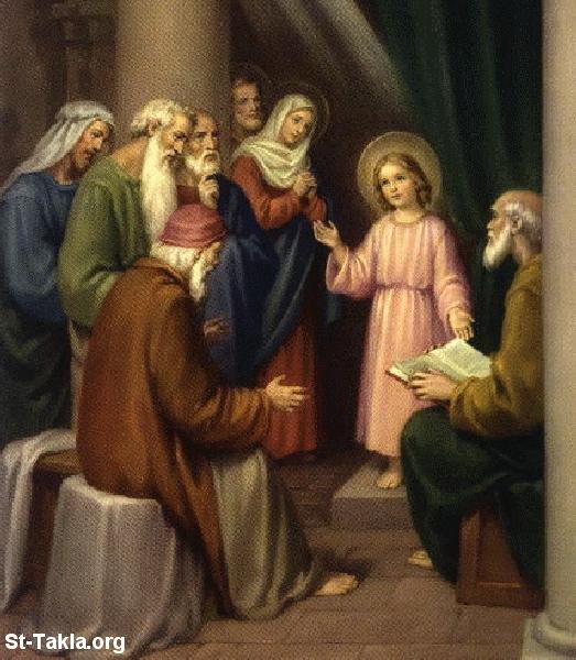 صور من حياة المسيح يارب تعجبكم Www-St-Takla-org___Jesus-Childhood-01