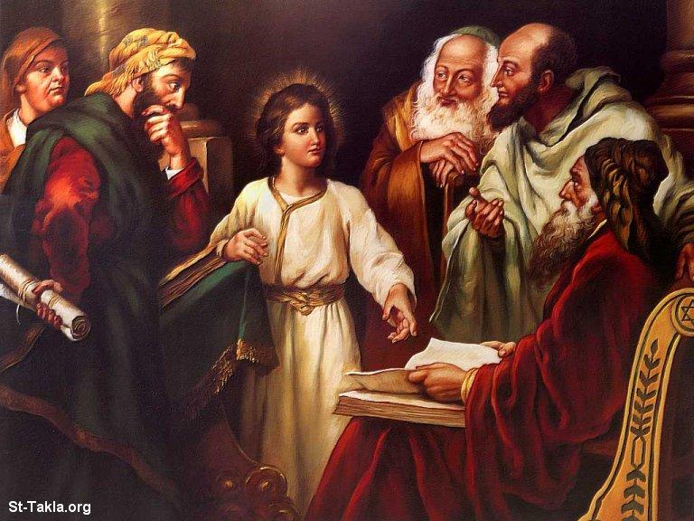 صور من حياة المسيح يارب تعجبكم Www-St-Takla-org___Jesus-Childhood-04
