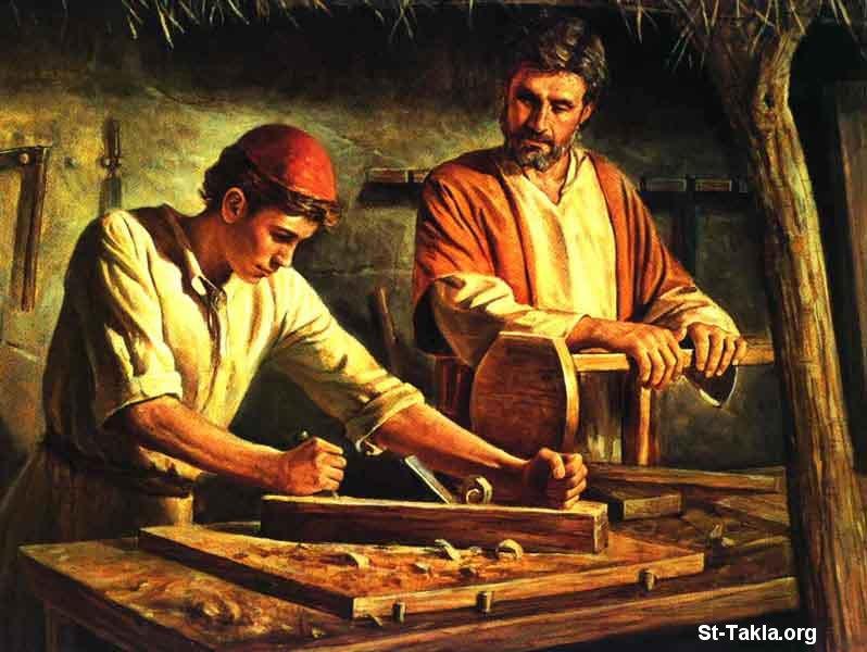صور من حياة المسيح يارب تعجبكم Www-St-Takla-org___Jesus-Childhood-05