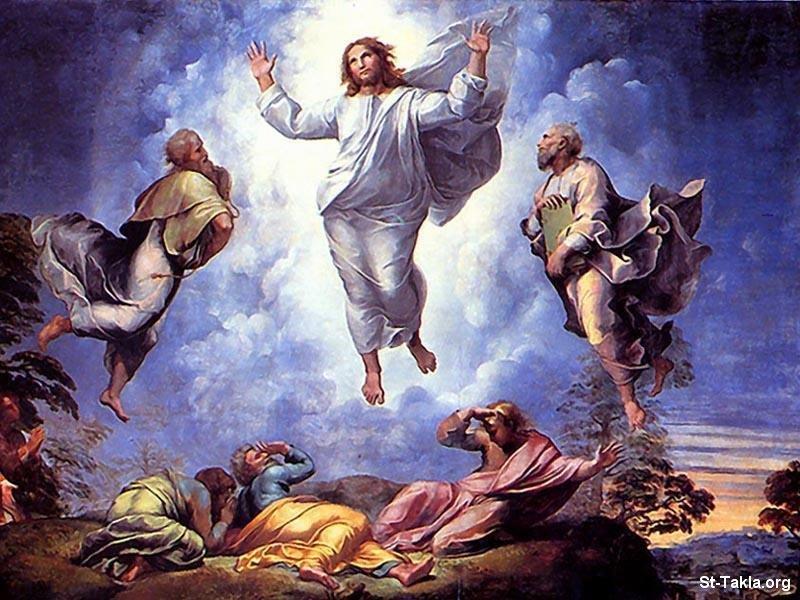 صور من حياة المسيح يارب تعجبكم Www-St-Takla-org___Transfiguration-of-Christ-01
