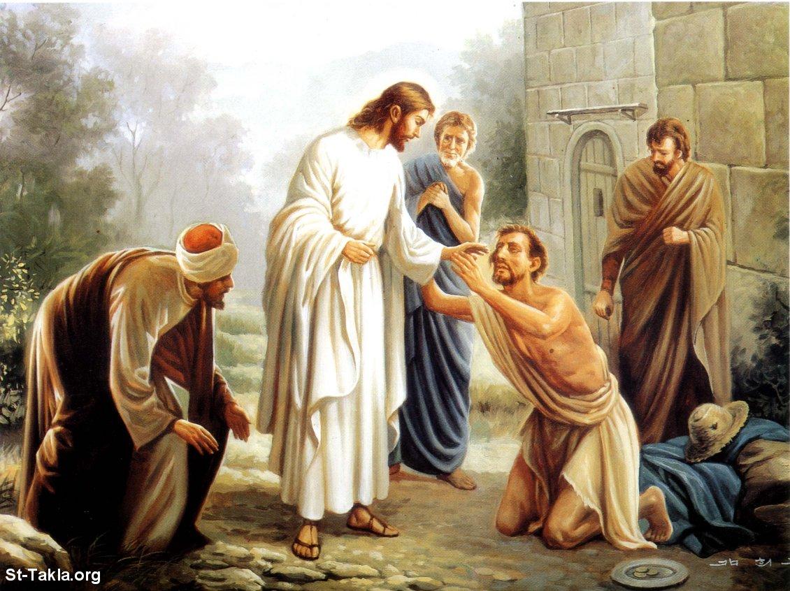 صور من حياة المسيح يارب تعجبكم Www-St-Takla-org___Miracles-of-Jesus-07