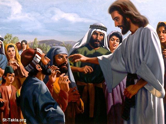 صور من حياة المسيح يارب تعجبكم Www-St-Takla-org___Miracles-of-Jesus-10