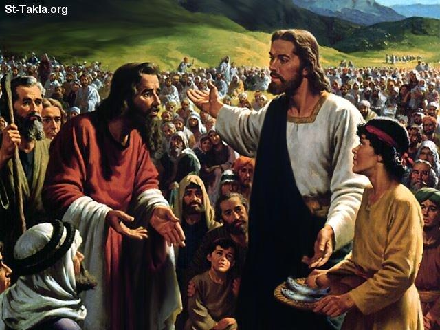 صور من حياة المسيح يارب تعجبكم Www-St-Takla-org___Miracles-of-Jesus-23