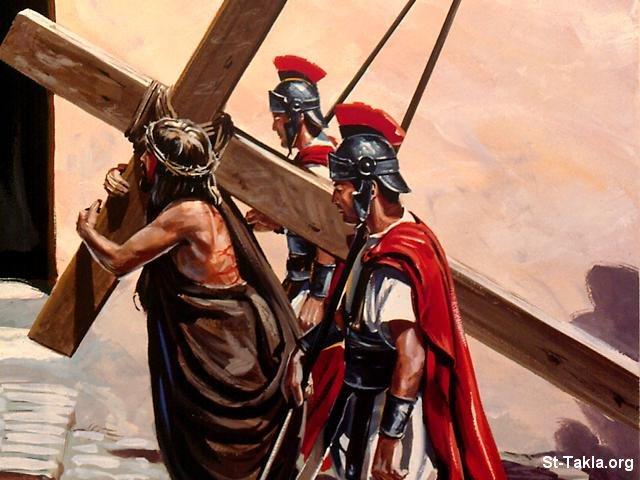 صور من حياة المسيح يارب تعجبكم Www-St-Takla-org___Jesus-Pain-Road-06