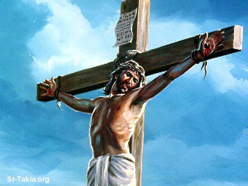 صور من حياة المسيح يارب تعجبكم Www-St-Takla-org___Jesus-Crucifixion-18