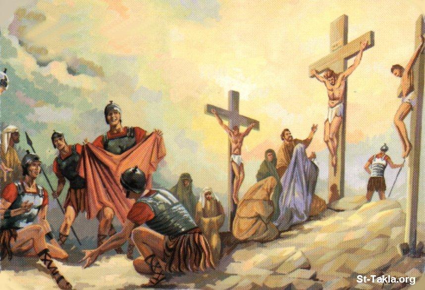صور من حياة المسيح يارب تعجبكم Www-St-Takla-org___Jesus-Crucifixion-30